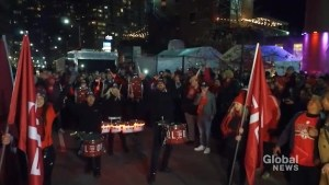 TFC fans march through streets of Liberty Village