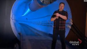Elon Musk unveils Boring Company's first Los Angeles-area tunnel