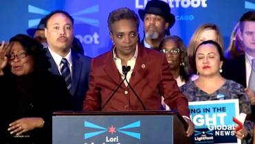 Lori Lightfoot elected Chicago's first black, female, openly gay