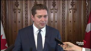 Federal Budget 2018: Scheer says Liberals don't have contingency for NAFTA negotiations