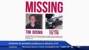 Defence to present evidence in Bosma Trial