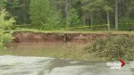 Officials worry about effect of heavy rains on Oxford sinkhole
