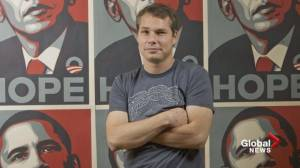 Artist Shepard Fairey on iconic 2008 Obama 'Hope' poster