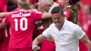 Canadian women's soccer coach moves to men's team