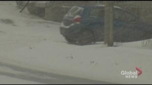 Winter storm dumps heavy snow on Peterborough area
