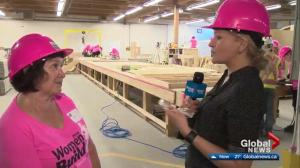 Habit for Humanity's Women Build event in Edmonton