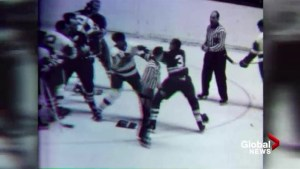 Archive footage show the 1967 Seattle Totems take on the Vancouver Canucks