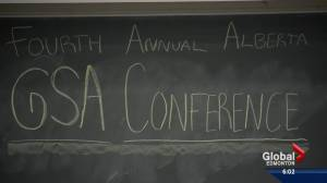 Alberta teachers, students attend gay-straight alliance conference