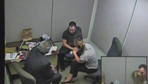 'My hands were around her neck': Jury shown Christopher Garnier interrogation video