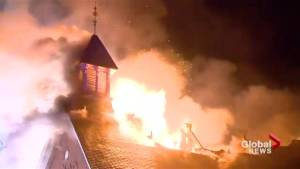 Church fire in Burlington, Ont., considered suspicious