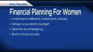 Financial Planning tips with Pam Mundell