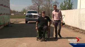 Wounded Edmonton soldier battling bureaucracy fears he'll be homeless