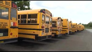First Student Bowmanville bus drivers on strike