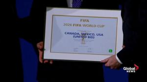 United bid honoured with the privilege to host 2026 FIFA World Cup