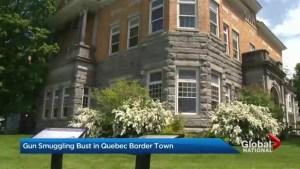 Gun smuggling bust in Quebec border town