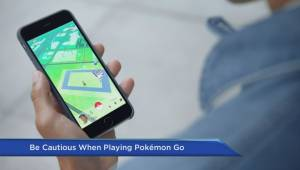 Pokemon Go a safety concern