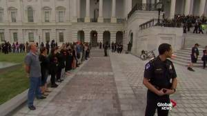 Protesters arrested at anti-Kavanaugh protests on Capitol Hill