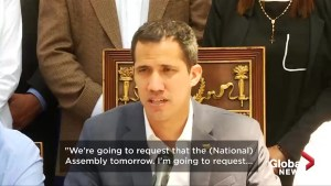 Juan Guaido to request  'state of national alarm' in Venezuela