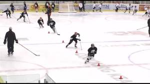 Justin Williams' hockey camp back for third year in Cobourg (01:48)