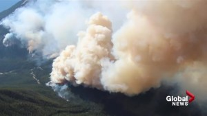 Southern Alberta wildfire threat close to historic levels