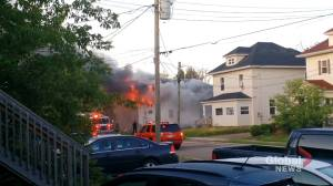 Moncton fire destroys house