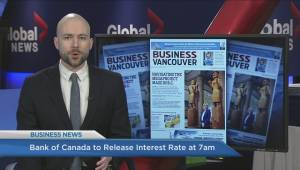 BIV: Bank of Canada's key interest rate, Chinese clothing company invests in Indochino
