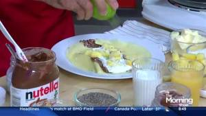 Start your day a different way with these Nutella breakfast recipes
