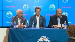 Edmonton Oilers sign Connor McDavid: 'Not a bad way to start the next 9 years'