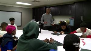 Ajax high school student leads mentorship program