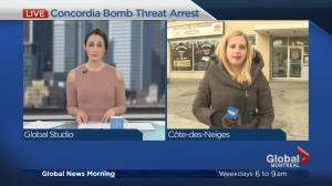 Police arrest 47-year-old man after Concordia bomb threat