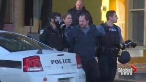 Sword-wielding bank robber arrested in Colorado