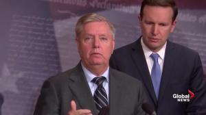 Lindsey Graham says Trump is wrong about Khashoggi case, Yemen war