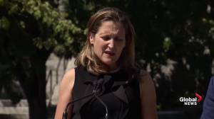 Freeland says Canada waiting for answers on relationship with Saudi Arabia after ambassador expelled