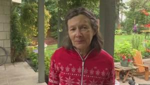 Vernon cyclist says her helmet was life saving