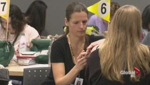 Meningococcal immunization clinics