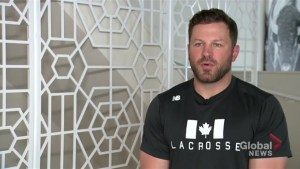 National lacrosse player speaks about how agreement reached with Canadian Lacrosse Association