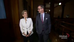 Kathleen Wynne says 'uncertainty' will be the ballot question in 2018
