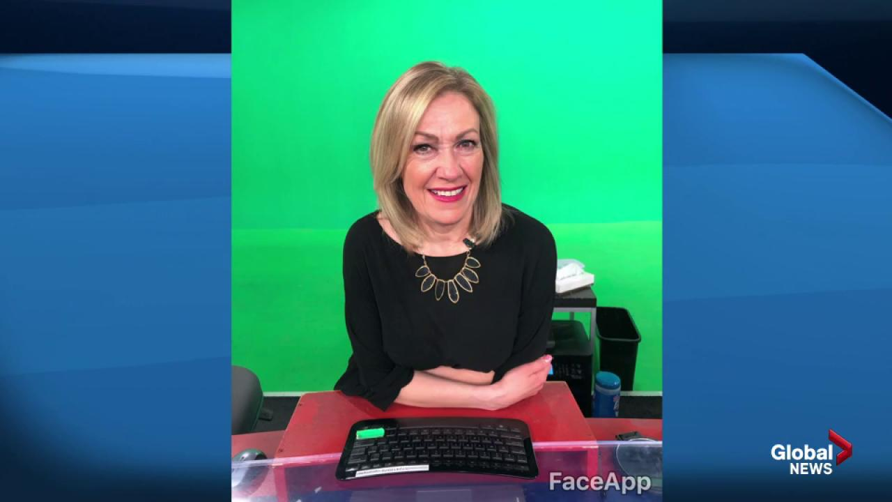 Global Calgary anchors take the FaceApp Challenge
