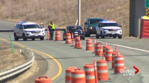 Section of Trans-Canada Highway in N.B. could reopen soon following damage assessment