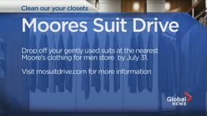 Community Events: Moores Suit Drive