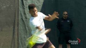 Quebec teen tennis sensation is fan favorite at Rogers Cup