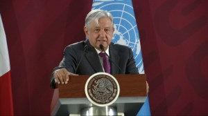 Mexico president says development, not aid, is needed to stem migration