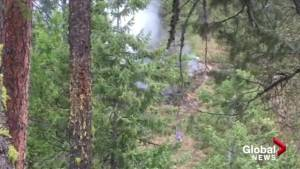 Lightning strikes near South Okanagan home, causing fire