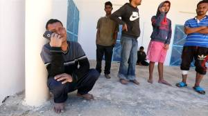 'We kept floating in the water': survivor of capsized Tunisia migrant boat
