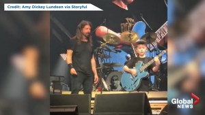 Foo Fighters invite 10-year-old on stage to perform Metallica