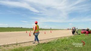 Drivers reminded to slow down in construction zones across Saskatchewan