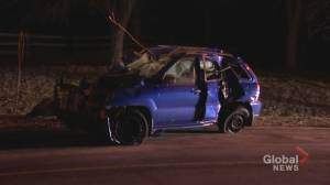5 teens injured, 2 critically, after Vaughan crash