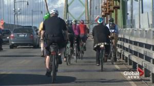 Halifax cyclists organize Macdonald Bridge protest