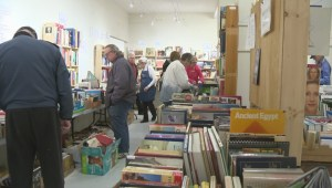 Over 30,000 used books for sale at annual Armstrong fundraiser