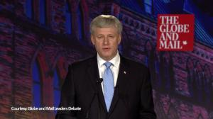 Harper and Trudeau say NDP tax increases will cause job losses